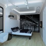 Спальня hi-tech фото