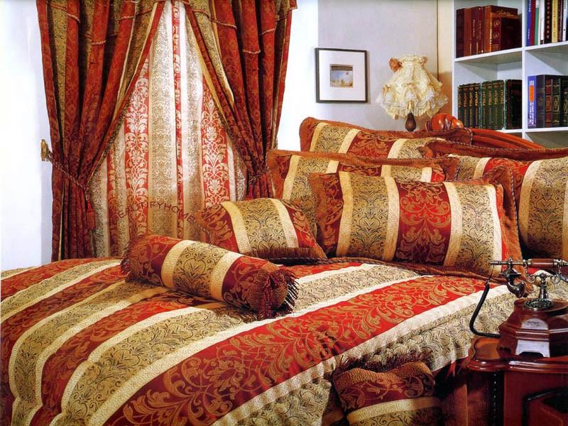 Текстиль в спальной Италия