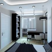 Спальня hi-tech