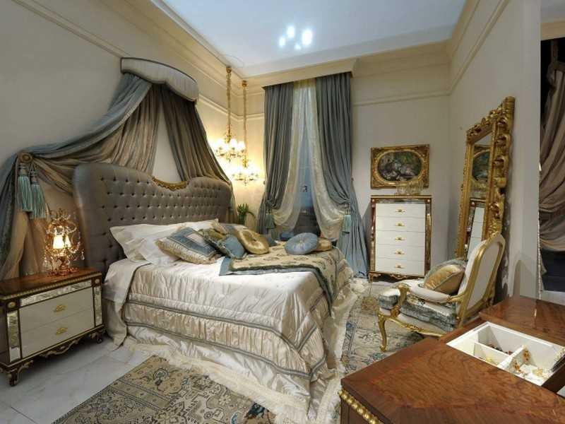 Спальная комната арт-деко