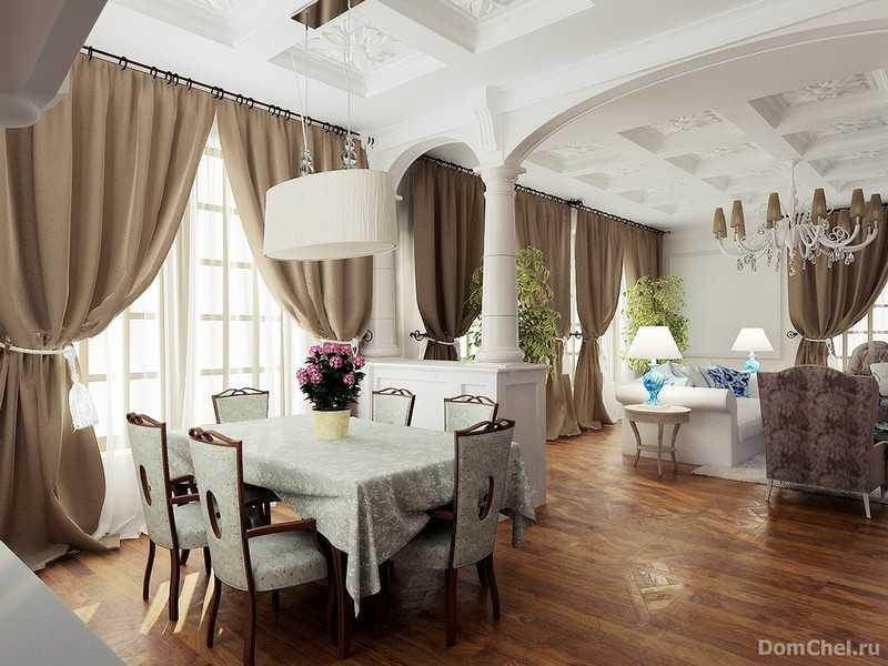 Дизайн интерьера дома арт-деко