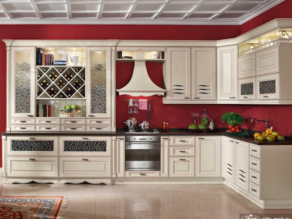 Кухня в стиле квинтаж