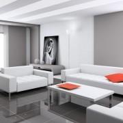 Комната хай-тек фото в интерьере