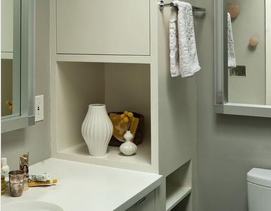 Как украсить небольшую ванную