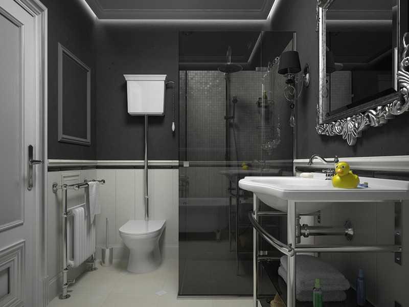Ванная комната арт-деко фото