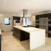 Кухня интерьер хай-тек фото и описание
