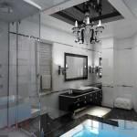 Красивая ванная Арт-Деко интерьер и дизайн