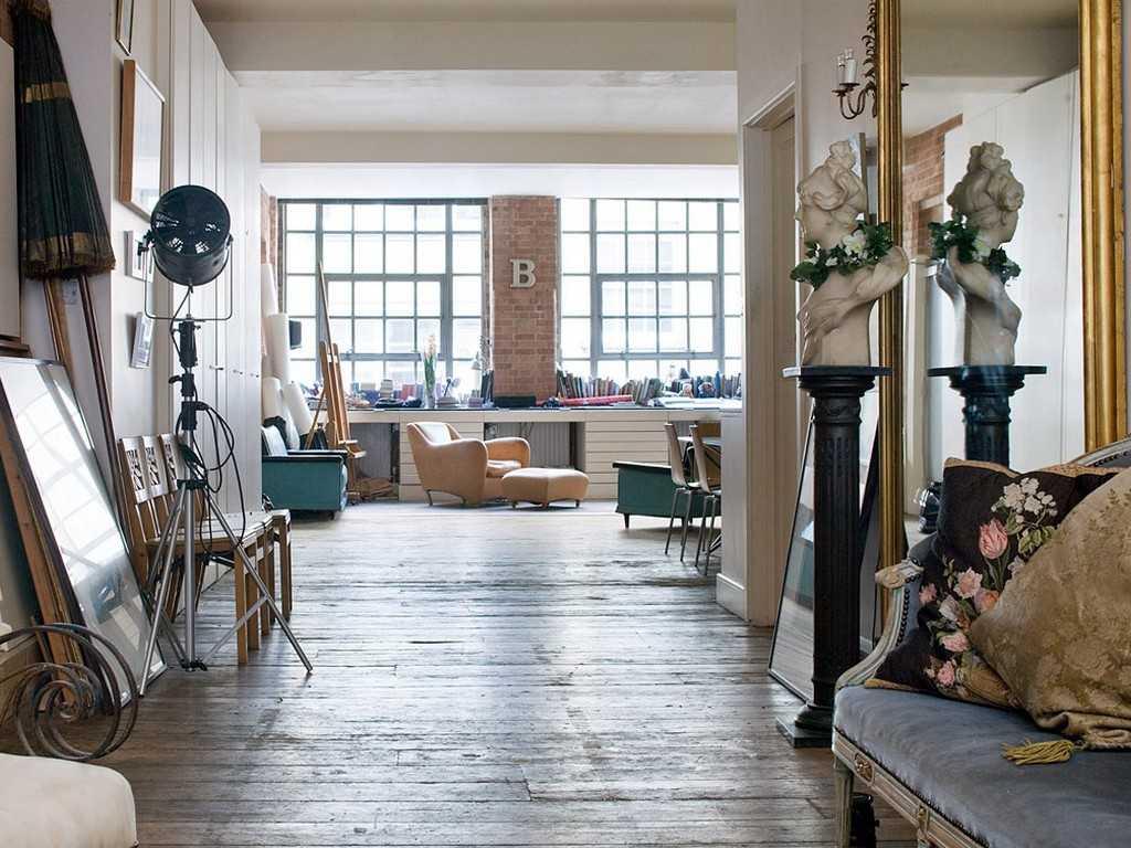 Дизайн квартиры винтаж