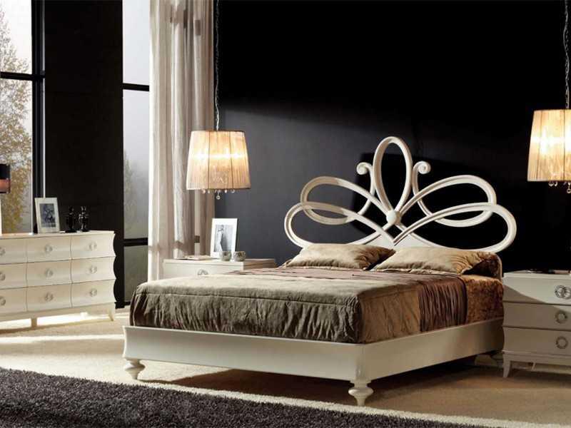 Меблировка спальни в стиле арт-деко фото