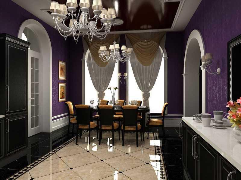 Кухня арт-деко фото