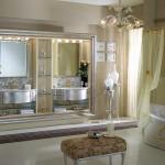Арт-Деко дизайн интерьера ванной