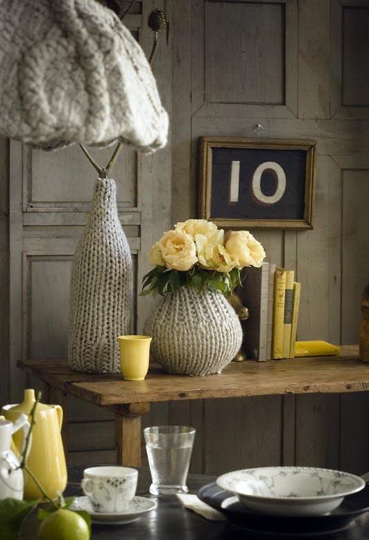Вязание идеи для декора квартиры