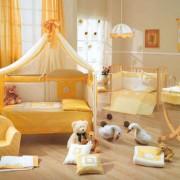 Дизайн интерьера комнаты для малыша