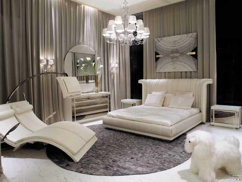 Мебель для спальни в стиле арт-деко фото