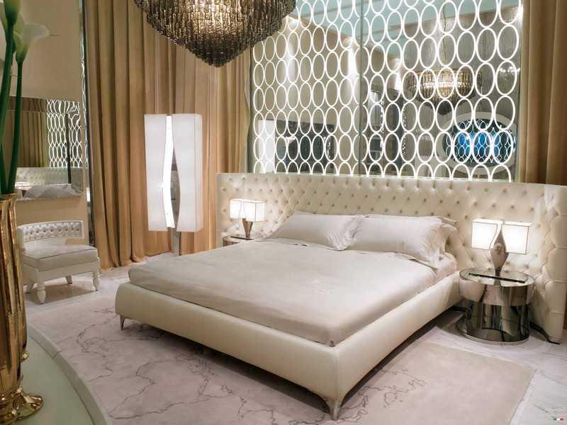 Кровать в стиле арт-деко фото