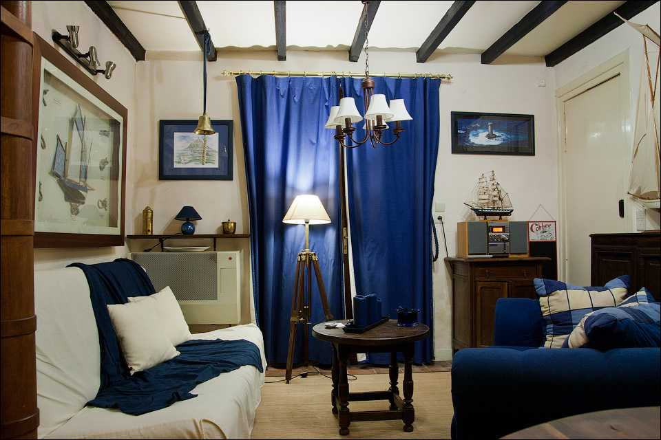 Интерьер и дизайн комнаты в морском стиле, Советы по оформлению