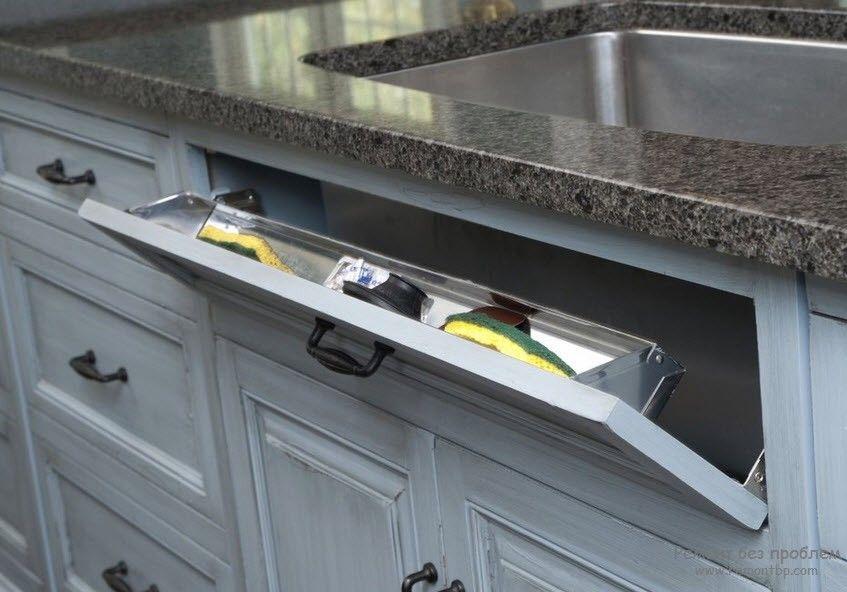 Удобный кухонный шкафчик