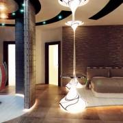 Красивая спальня хай-тек