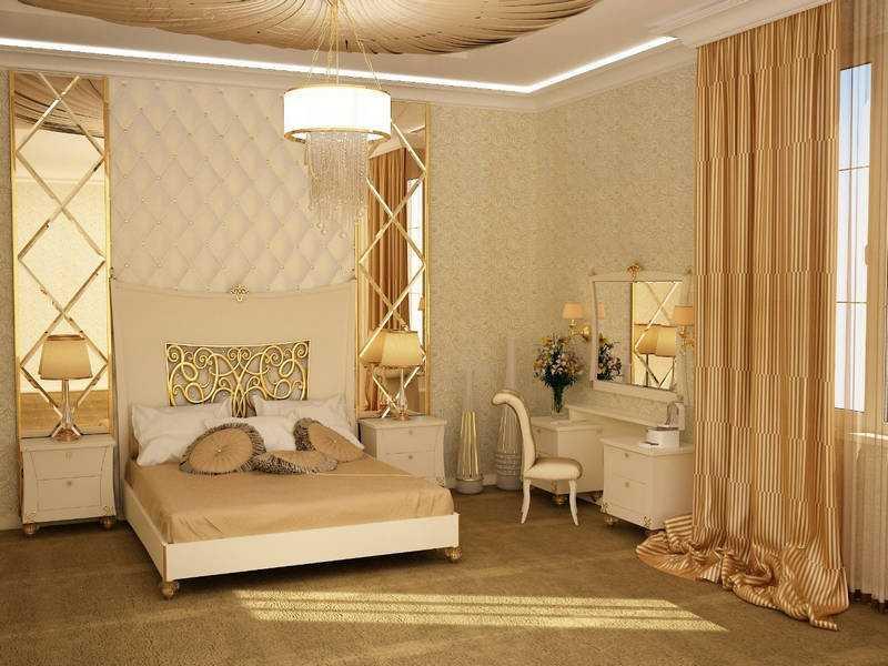 Спальня арт-деко дизайн