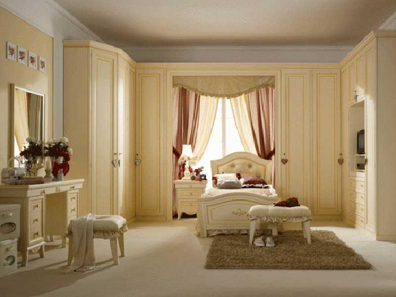 Как обустроить спальню для девочки фото в интерьере