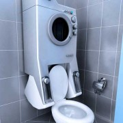 Стиральная машинка в ванной хрущевка