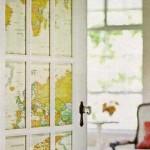 Дверь с картой