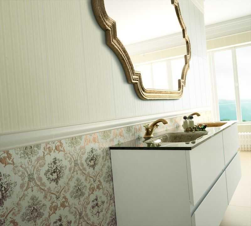 Зеркало винтаж для ванной