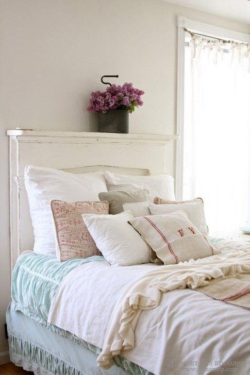 Текстиль в спальной комнате фото