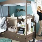 50 идей дизайна детской комнаты для новорожденного