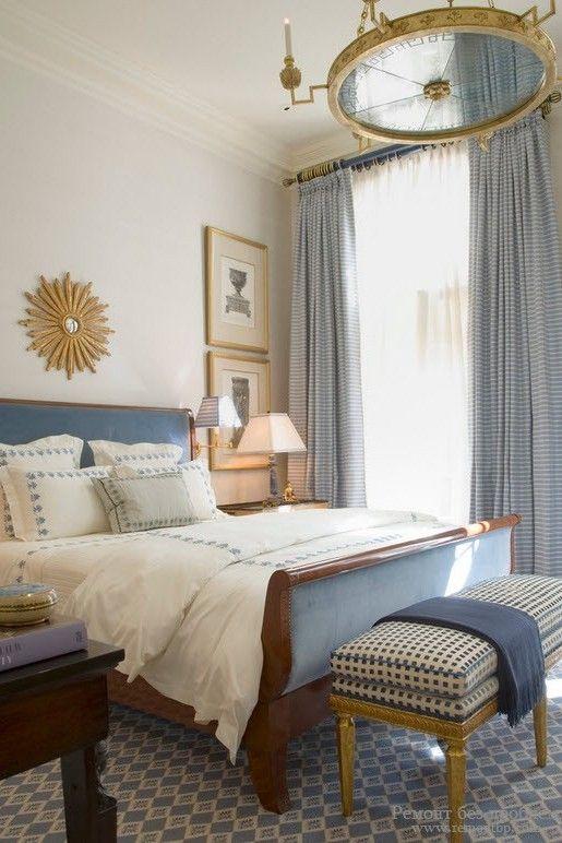 Небольшая красивая спальня