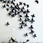Бабочки наклейки для стен
