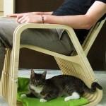 Лежак для кота фото