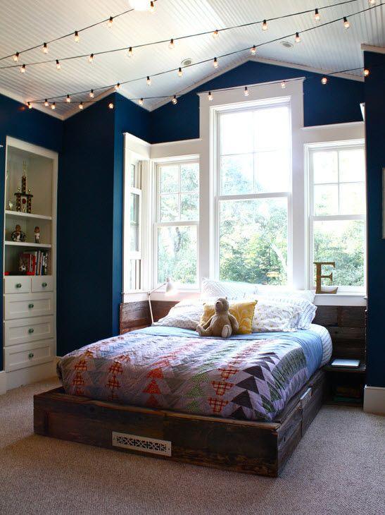 Спальная комната для маленькой девушки
