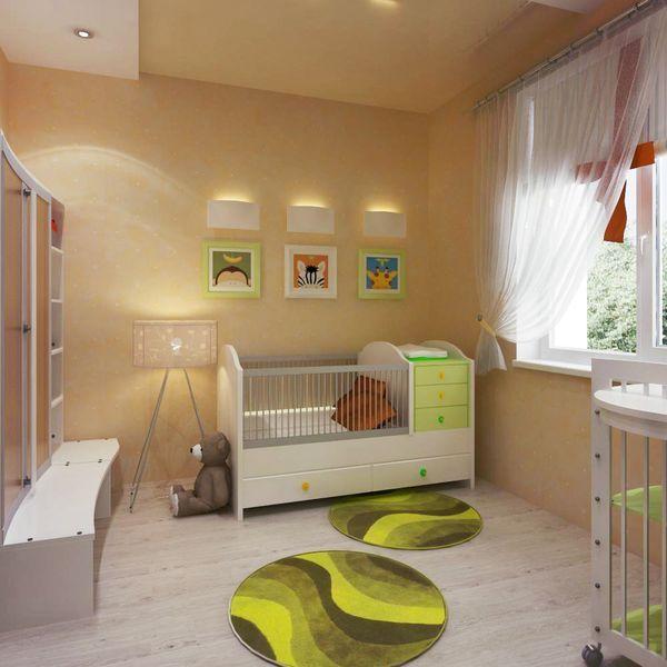 Дизайн комнаты родителей с новорожденным
