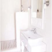 Белая маленькая ванная фото