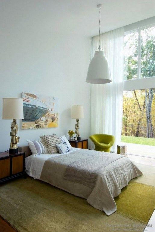 Красивая светлая спальни