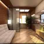 Совмещенная гостиная со спальной