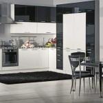 Черный цвет кухни арт-деко