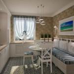 Интерьер и дизайн комнаты в морском стиле