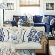Мягкая мебель морской стиль