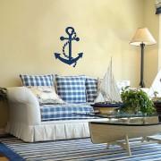 Декор стен в морском стиле