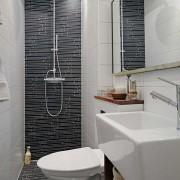 Стиль хай-тек ванная комната на фото