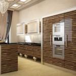 Мебель для кухни арт-деко