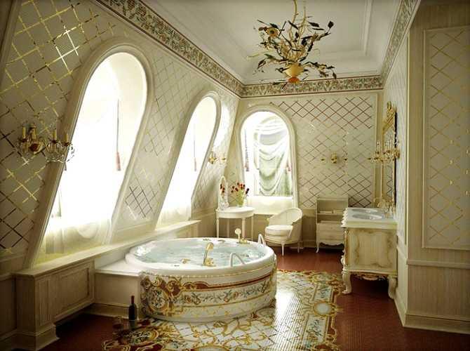 Ванная в стиле модерн