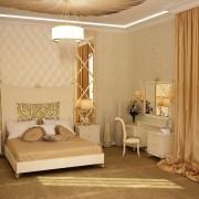 Арт-деко спальня