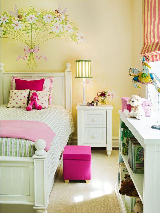 Спальная комната для девочки дизайн