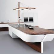 Кухня морской стиль мебель фото