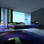 Кровать хай-тек