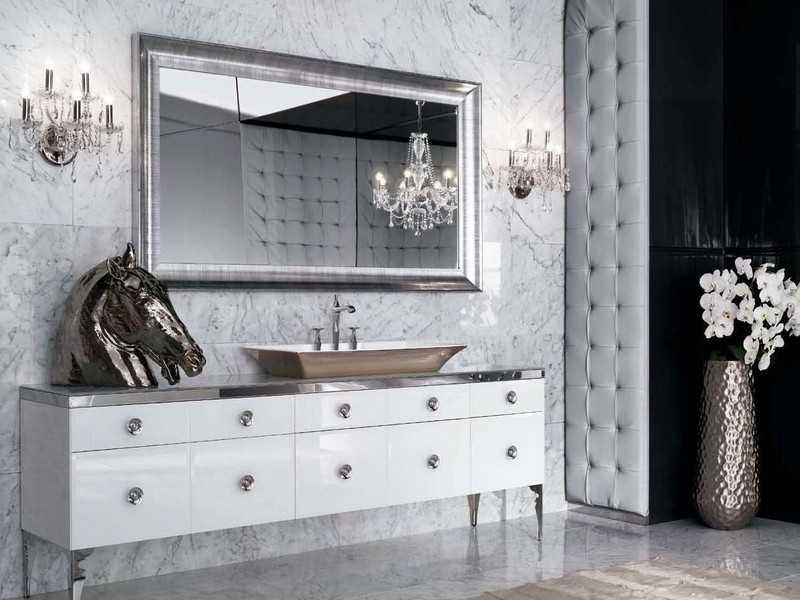 Дизайн ванной арт-деко фото