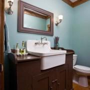 Интерьер и дизайн небольшой ванной